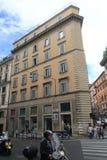 Vista della via dell'Italia Roma Fotografia Stock Libera da Diritti