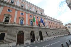 Vista della via dell'Italia Roma Immagini Stock