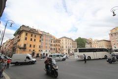 Vista della via dell'Italia Roma Immagini Stock Libere da Diritti