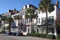 Vista della via di Charleston, Carolina del Sud Fotografia Stock