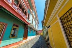 Vista della via di Guayaquil Immagini Stock Libere da Diritti