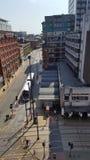 Vista della via di Manchester immagine stock