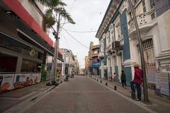 Vista della via di Palmira Colombia immagine stock libera da diritti