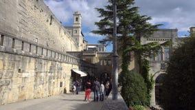 Vista della via di San Marino archivi video