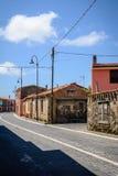 Vista della via di Tinnura, Sardegna Immagine Stock Libera da Diritti