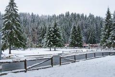 Vista della via di Winterl Immagine Stock