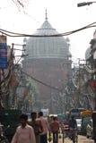 Vista della via in India Immagini Stock Libere da Diritti