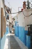 Vista della via nel Marocco Fotografia Stock