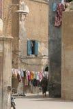 Vista della via nel Marocco Immagini Stock