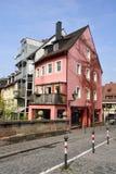 Vista della via su Trodelmarkt a Norimberga Fotografia Stock Libera da Diritti
