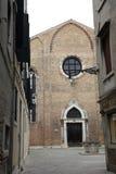 Vista della via a Venezia, Immagine Stock