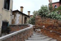 Vista della via a Venezia, Fotografia Stock Libera da Diritti