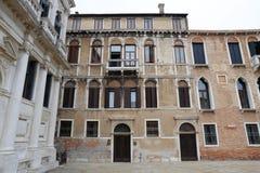 Vista della via a Venezia, Fotografie Stock