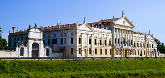 Vista della villa Pisani Fotografie Stock