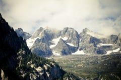 Vista delle alpi Fotografia Stock Libera da Diritti