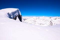 Vista delle alpi Fotografie Stock Libere da Diritti