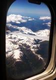 Vista delle alpi 2 Immagini Stock