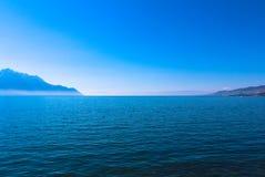 Vista delle alpi svizzere Fotografia Stock Libera da Diritti