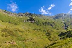 Vista delle alpi vicino a Rothorn Fotografie Stock