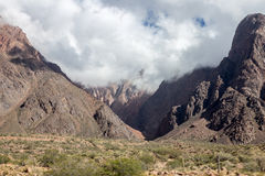 Vista delle Ande Fotografie Stock Libere da Diritti