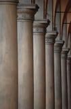 Vista delle colonne Immagine Stock