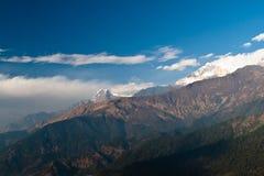 Vista delle creste della montagna Fotografia Stock Libera da Diritti