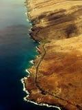 Vista delle Hawai Arial Fotografia Stock Libera da Diritti