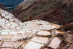 Vista delle miniere di sale Immagine Stock