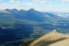 Vista delle montagne Fotografia Stock