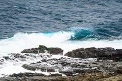 Vista delle montagne e della natura sulla costa Est di Taiwan Fotografia Stock