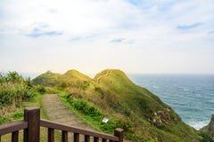 Vista delle montagne e della natura sulla costa Est di Taiwan Fotografia Stock Libera da Diritti