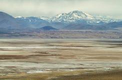 Vista delle montagne nel passaggio di Sico Fotografia Stock Libera da Diritti