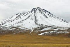 Vista delle montagne nel passaggio di Sico Immagine Stock Libera da Diritti