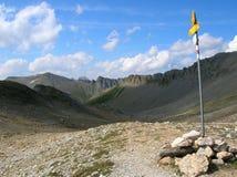 Vista delle montagne nelle alpi svizzere Fotografie Stock
