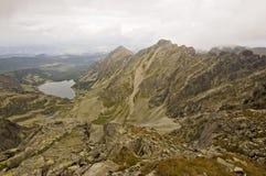 Vista delle montagne polacche di Tatra immagine stock libera da diritti