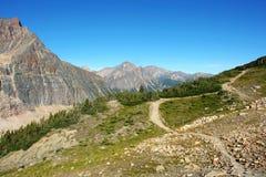 Vista delle montagne rocciose Immagine Stock Libera da Diritti