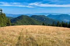 Vista delle montagne slovacche Immagini Stock