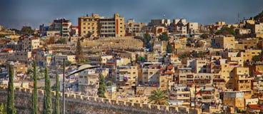 Vista delle zone residenziali di Gerusalemme immagine stock