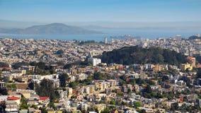Vista dello scape di San Francisco City Fotografia Stock Libera da Diritti
