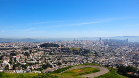 Vista dello scape di San Francisco City Immagine Stock