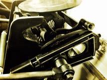 Vista dello scritto tipografico Fotografia Stock