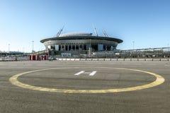 Vista dello stadio Immagine Stock Libera da Diritti