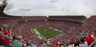 Vista dello stadio Fotografie Stock Libere da Diritti