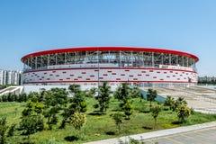 Vista dello stadio dell'arena di Adalia in Turchia a Adalia fotografia stock libera da diritti