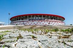Vista dello stadio dell'arena di Adalia in Turchia a Adalia fotografia stock