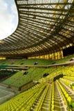 Vista dello stadio dell'arena di PGE Immagine Stock Libera da Diritti