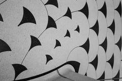 Vista detalhada do assoalho em torno da escadaria espiral na galeria de arte de Tate Britain em Londres Reino Unido Fotografado n imagens de stock