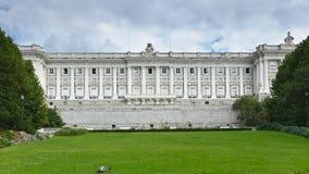 Vista dettagliata del palazzo reale Fotografia Stock Libera da Diritti