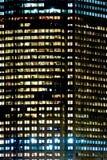 Vista dettagliata dell'edificio per uffici Fotografia Stock