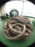 vista dettagliata della corda Fotografie Stock Libere da Diritti